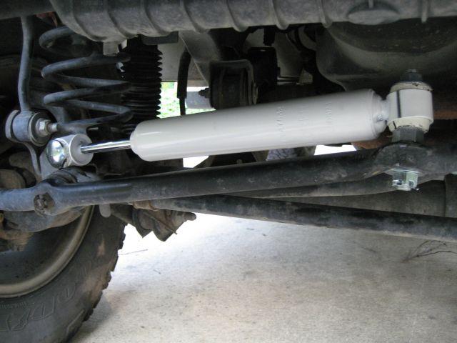 Steering Stabilizer Install