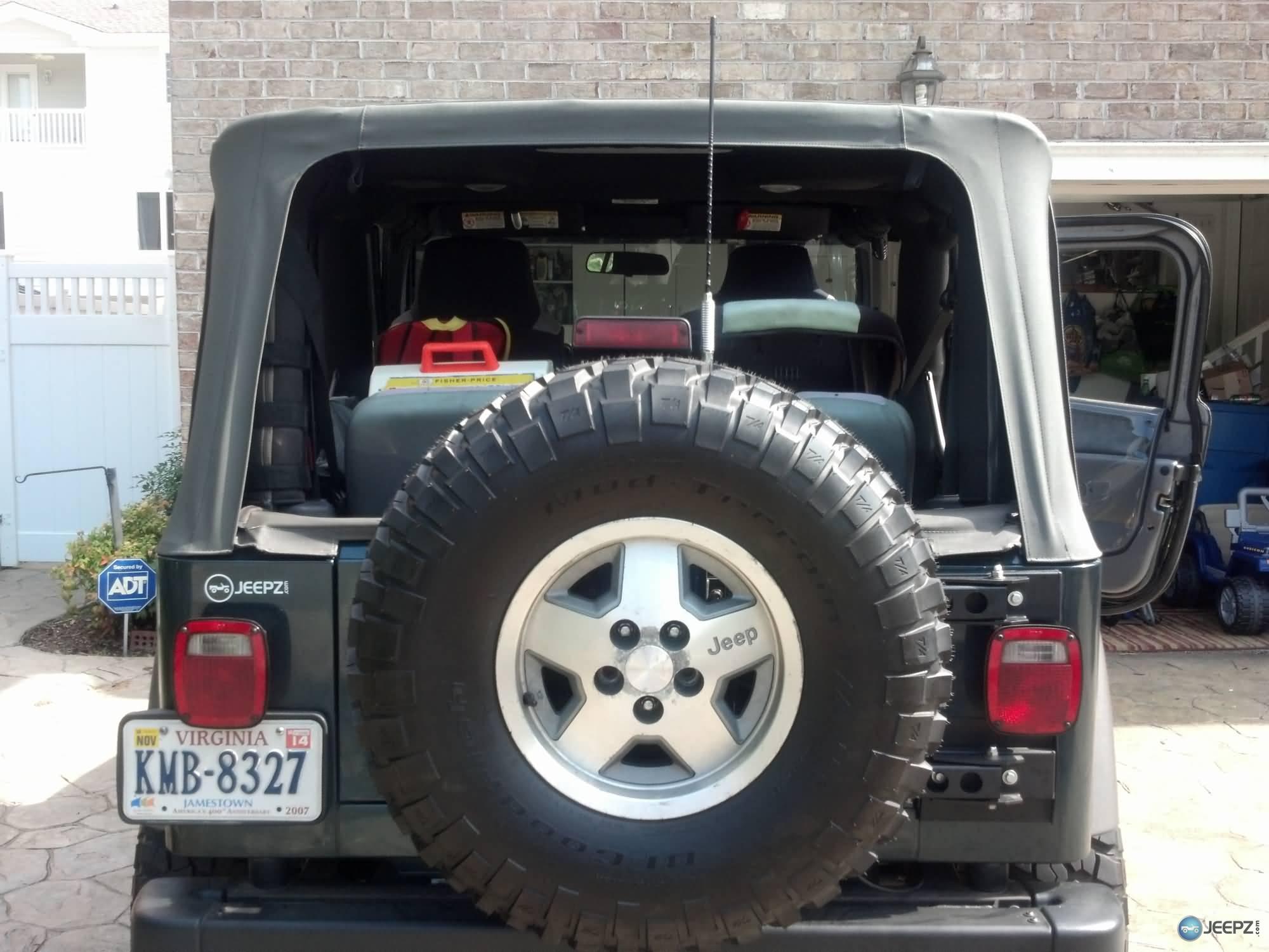 Wrangler Rear Window •rear Window Defroster Melts
