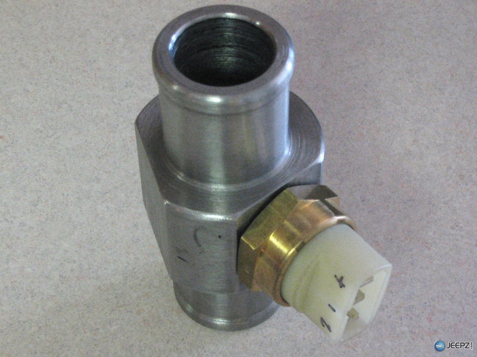 Inline Coolant Tube For Fan Switch