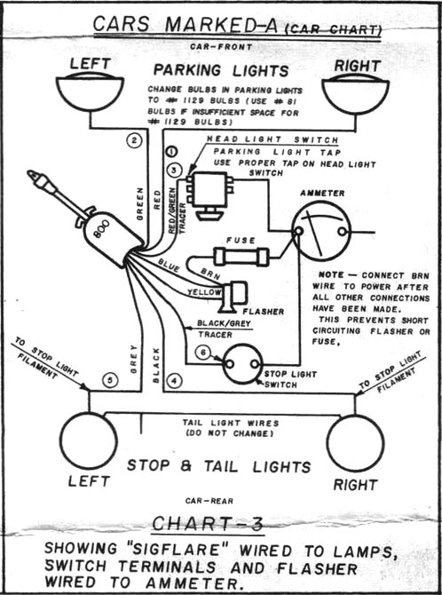 Turn Signal Wire Diagram