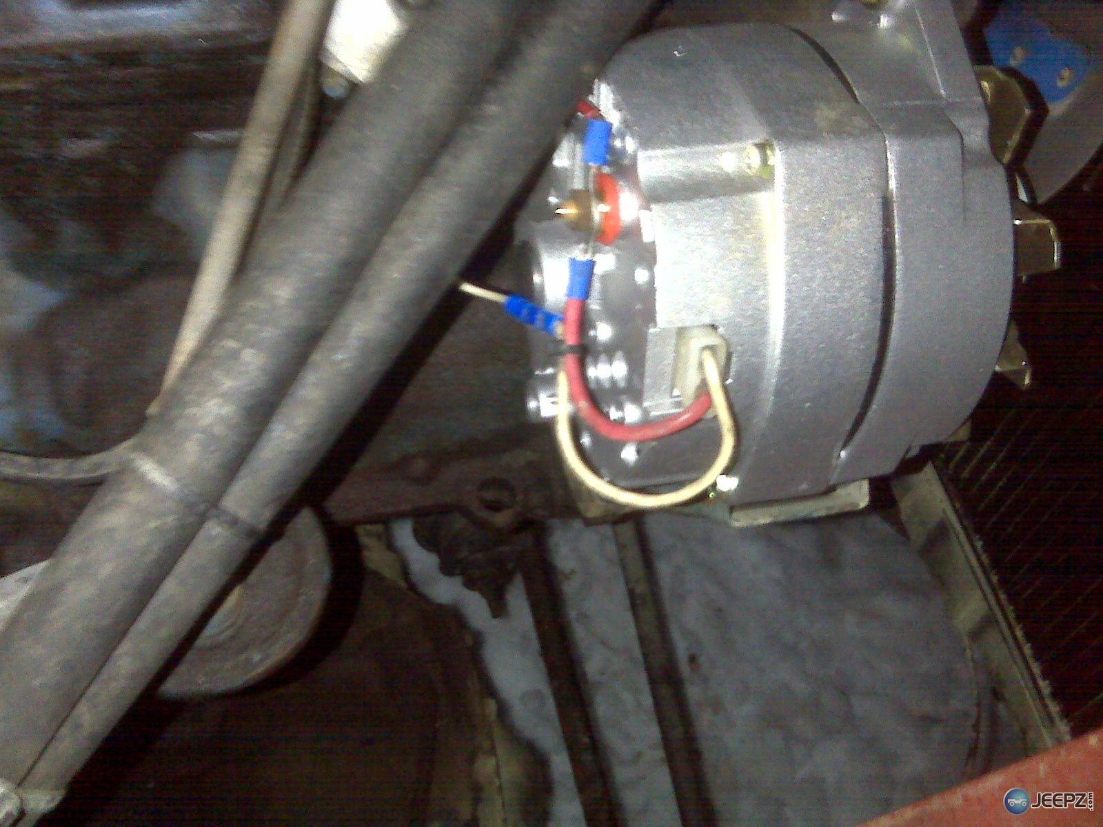 1695d1227659317 dead battery jeep quits new alternator img00042 dead battery, jeep quits, new alternator jeep yj alternator wiring diagram at n-0.co