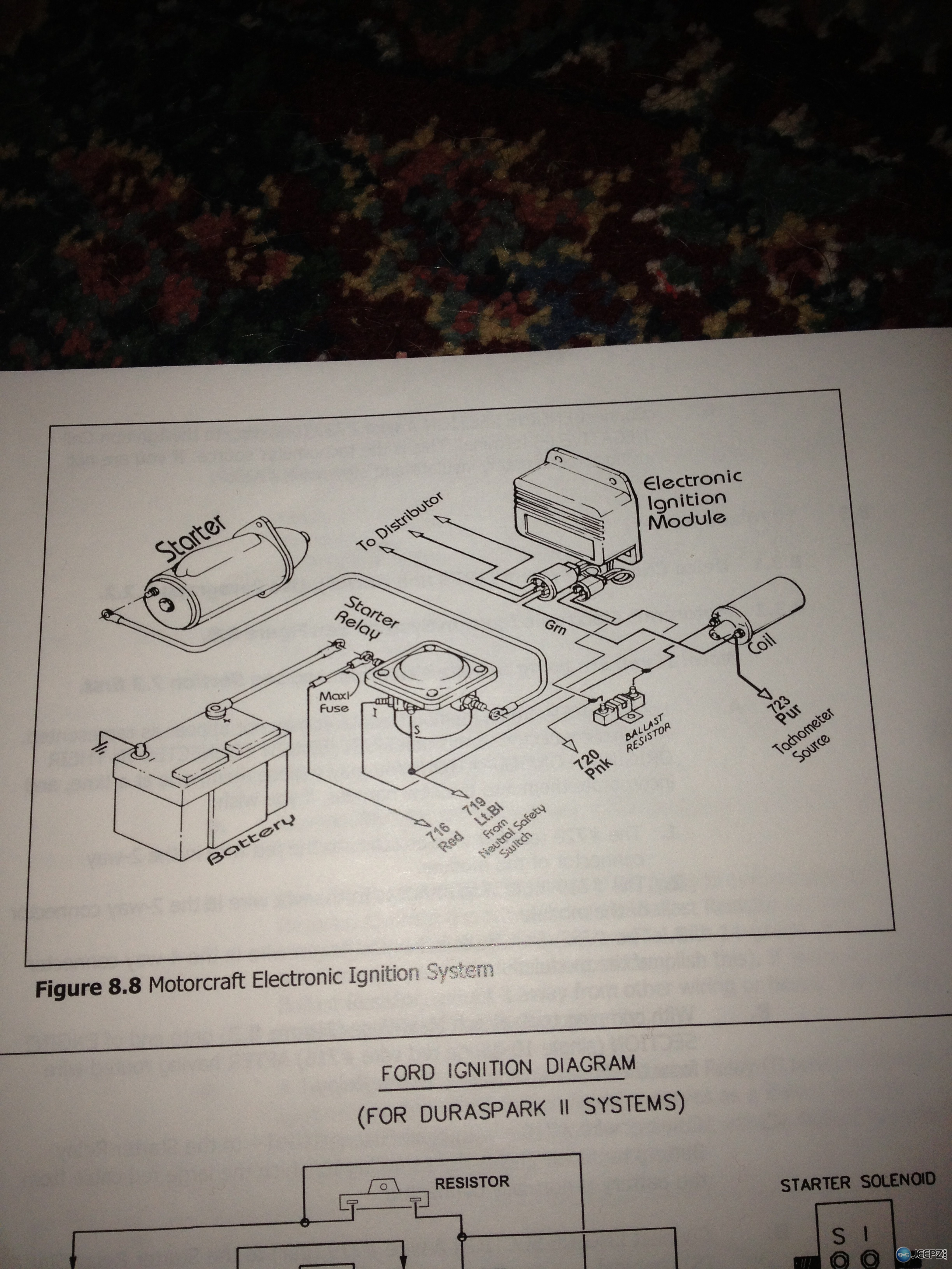 Duraspark Ii Jeep Wiring T Jeeps 1986 F150 351w Diagram Hot Rod Forum Hotrodders Bulletin