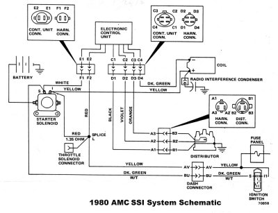 Amc Ignition Switch Wiring Diagram