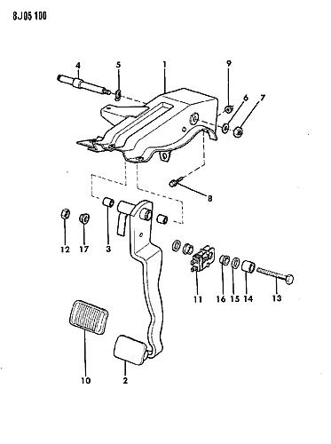brake booster push rod to brake pedal help