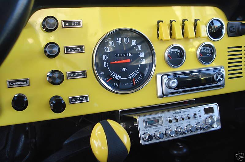 jeep cj tachometer wiring image 5