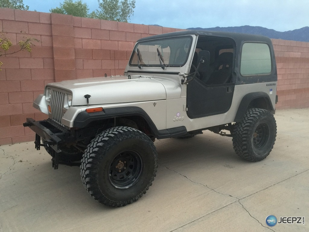 87 YJ questions