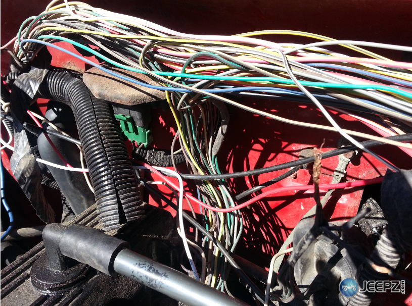 21430d1452882374 help o2 sensor wiring ripped out wiring harness plastic held back help! o2 sensor wiring ripped out 1992 jeep wrangler wiring harness at readyjetset.co