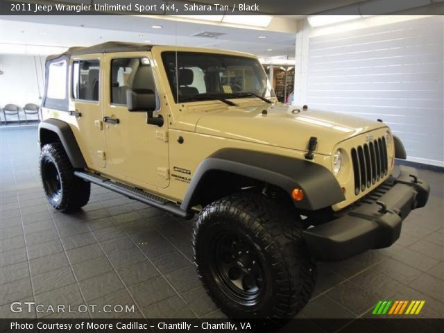 What Color Rims Should I Get With Gold/Tan Jeep Sahara?