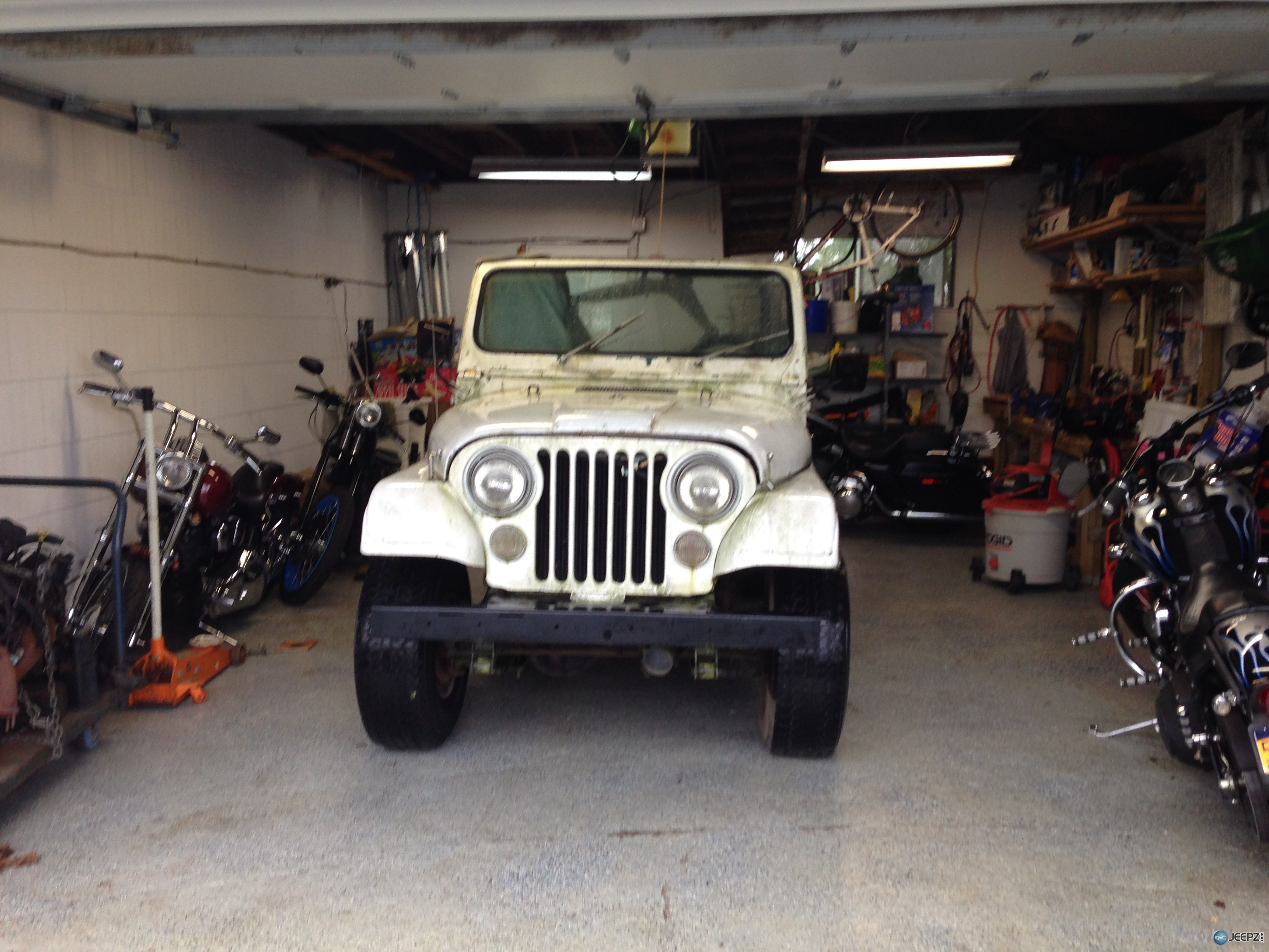 1979 cj7 quadra trac with a chevy 350 vortex motor need radiator 10