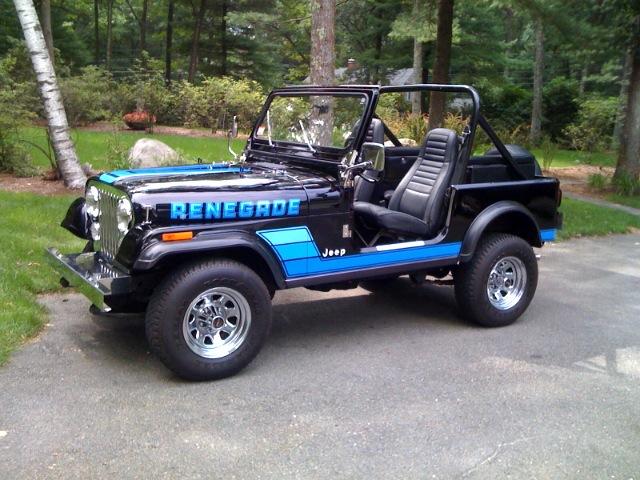 Topless Jeep CJ