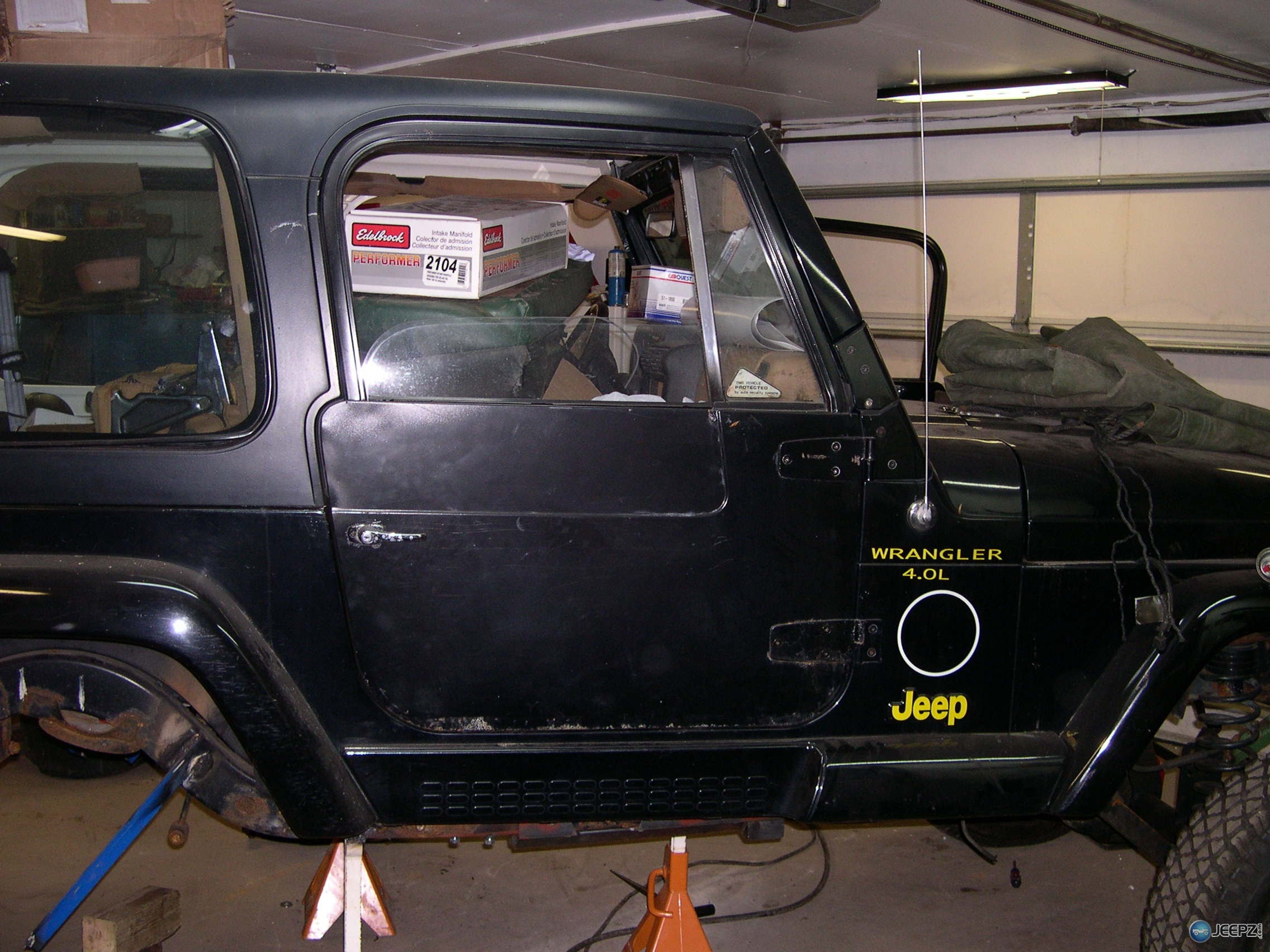 Used Jeep Wrangler Parts >> YJ full doors fit a TJ?