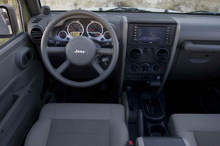 Captivating Wrangler Gets A New Interior For 2011 Jeep Wrangler 2008 Interior.