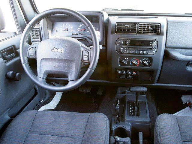 Nice Wrangler Gets A New Interior For 2011 Jeep Wrangler 2005 Interior.