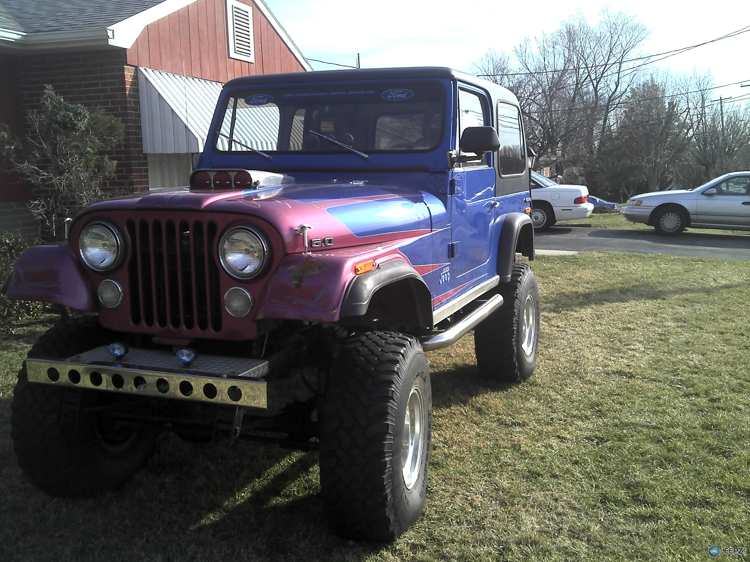 jeep   ford  swap