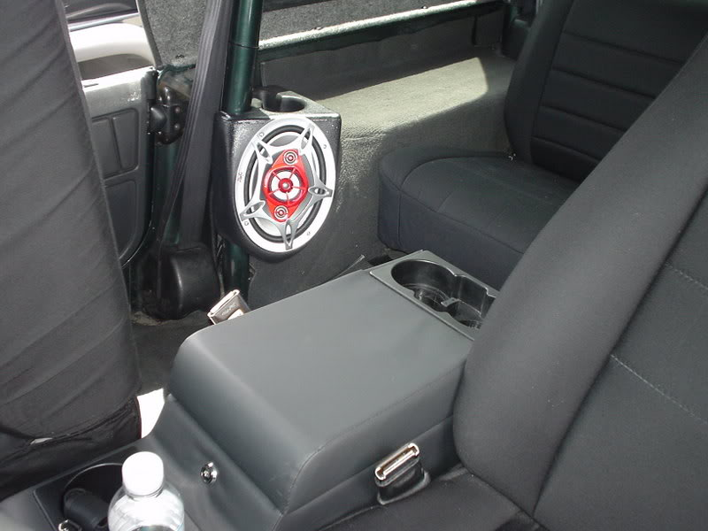 YJ stereo/in-dash speaker install completed! on