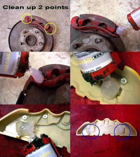 Ohhhh Noooo Glue On Brembo Brake Caliper Covers