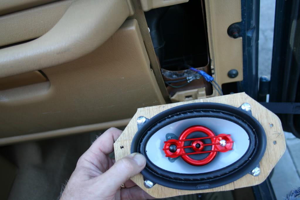 tj front dashboard speaker upgrade. Black Bedroom Furniture Sets. Home Design Ideas