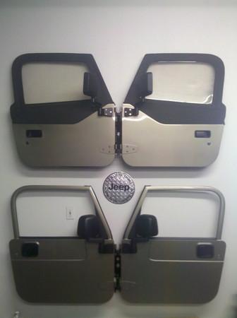 Skinny Pedal Door Hangers