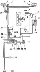 ammeter generator wiring diagram with 34159 My 84 Cj W 4 2 Will Not Start on Diagram Of A Ohmmeter in addition ere Selector Switch Wiring Diagram together with Wiring Diagram Honda Accord 1993 in addition Chevy Single Wire Alternator Wiring likewise Charging Circuit Diagram For The 1956 Delco Remy 12 Volt Chevrolet Passenger Cars.