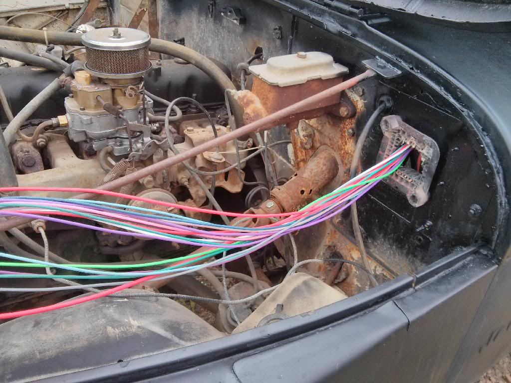 wiring harness install rh jeepz com 1983 CJ7 Wiring Schematic CJ7 Jeep  Painless Wiring Diagrams