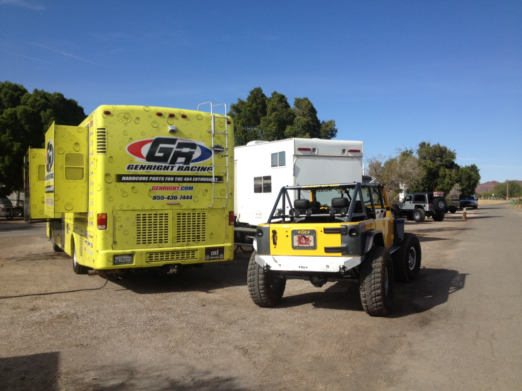 Genright Is At The Jeep Jamboree In Parker Az