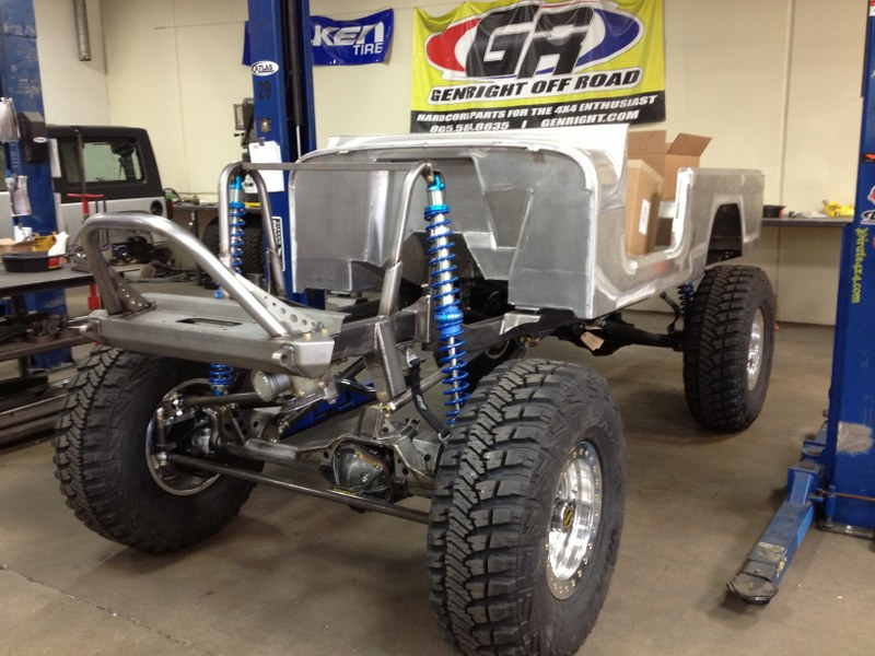 Simi Valley Jeep >> GenRight is Building an Aluminum Scrambler!