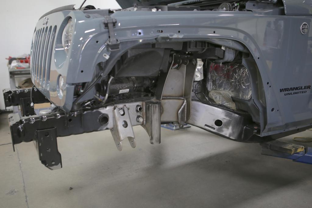 Genright S Elite Coilover Suspension On A Brand New Jkur