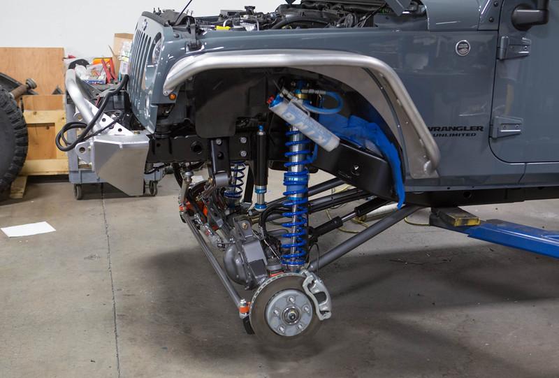 Simi Valley Jeep >> GenRight's Elite Coilover Suspension on a BRAND new JKUR