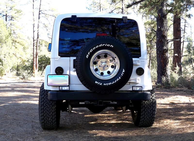 blowing fuse when put in reverse Jeep TJ Bumper Lights