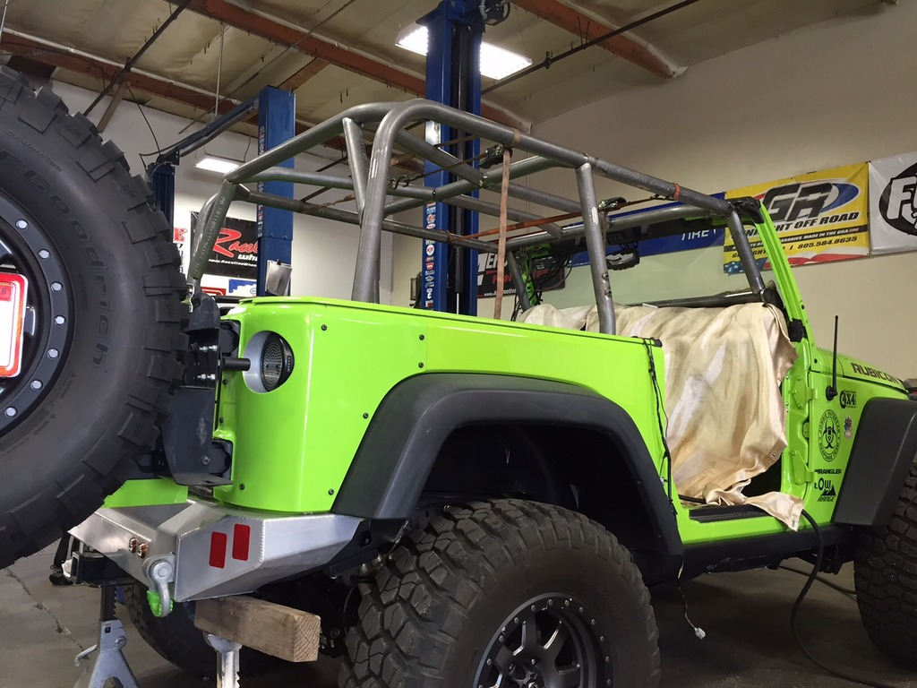 Simi Valley Jeep >> Pics of the new 2 Door JK Cage from GenRight!