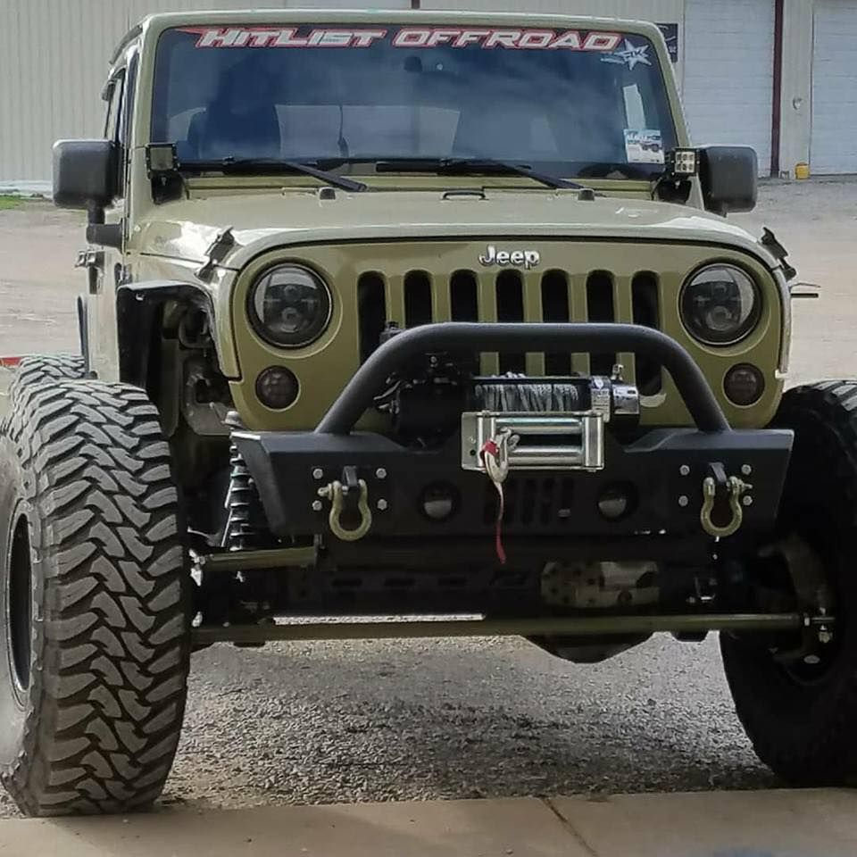 Jeep JK 1 Ton Axle Swap Kit Ford Super Duty Front
