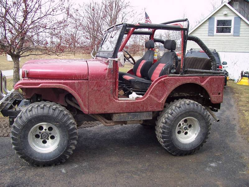 63 willys cj5
