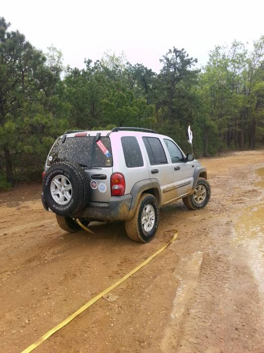 Jeep Liberty offroad