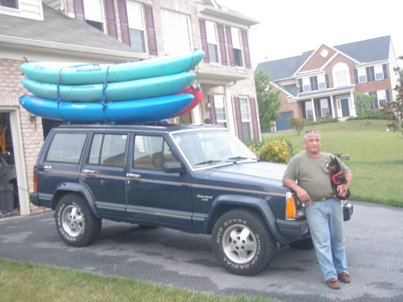 Prep for Kayaking MD