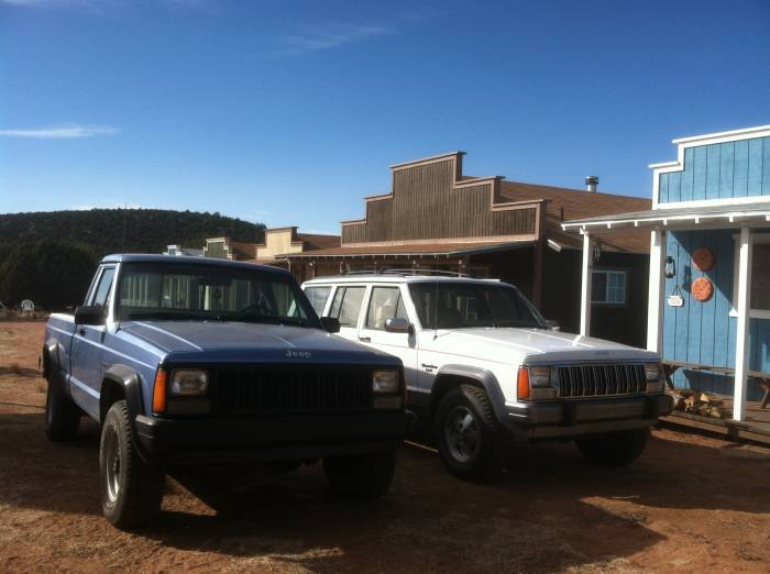 The MJ and the XJ