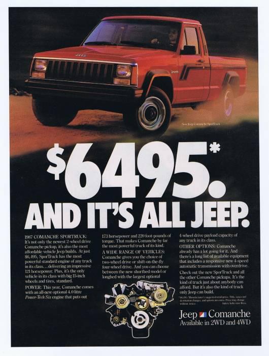 1987 Jeep Comanche