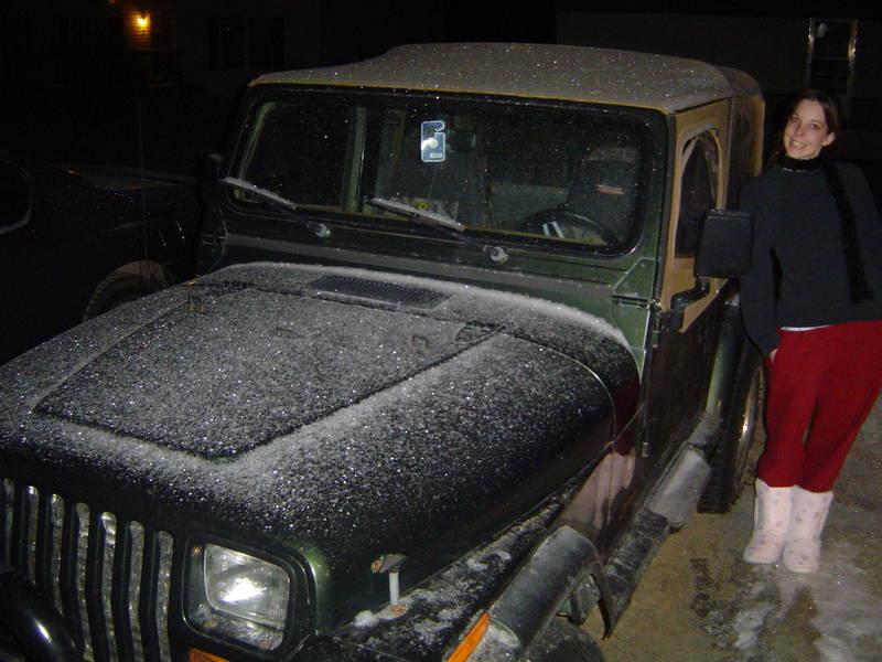 Rookie jeep