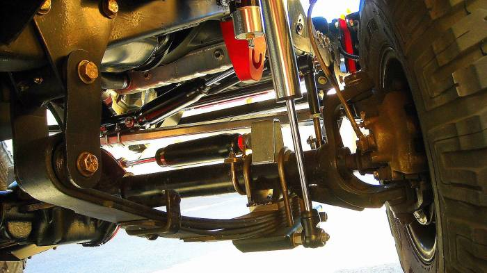 Front suspension 94 Jeep Wrangler