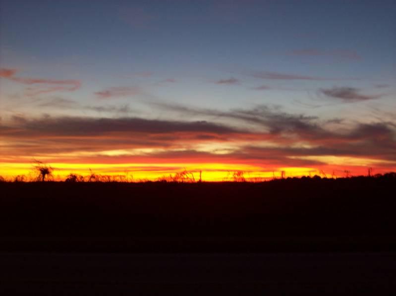 Southern Alabama sunset