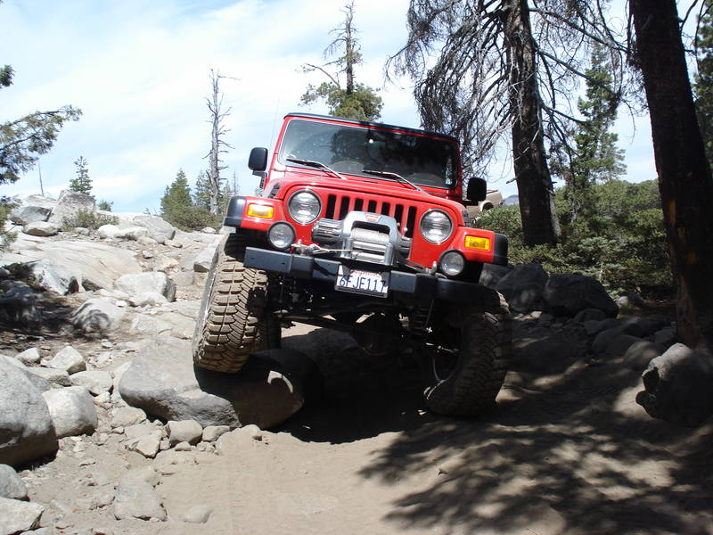 On the Rubicon Trail