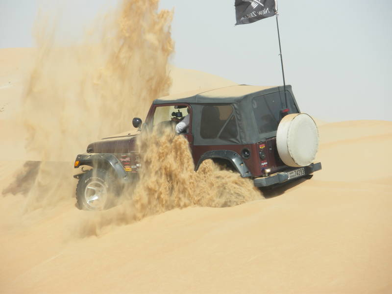 Abu Dhabi Blacksheep: Kiwi in the Sand