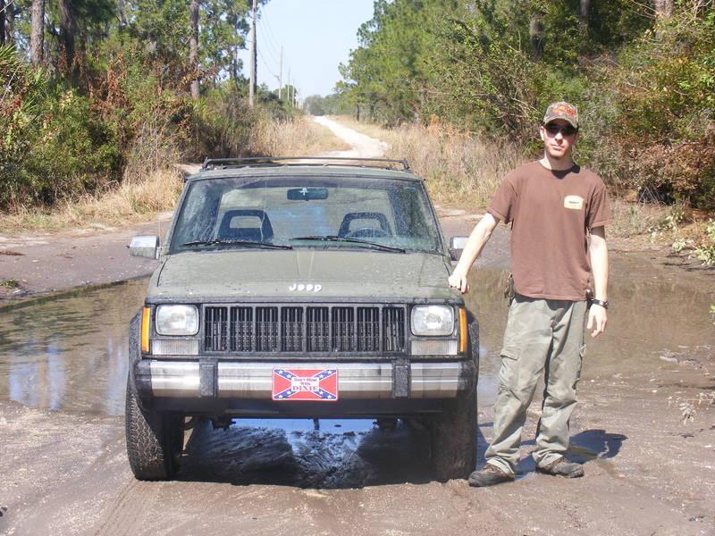 88' Cherokee, muddin in Sebring, Florida