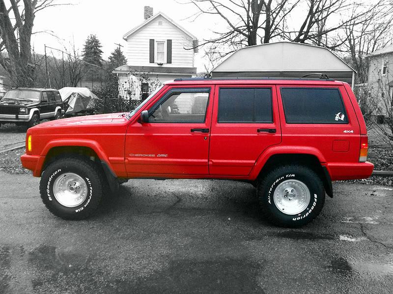 1998 Jeep XJ Classic Cherokee